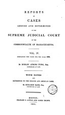 Pdf Reports of Cases Argued and Determined in the Supreme Judicial Court of the Commonwealth of Massachusetts