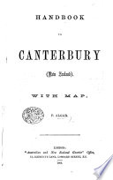 Handbook to Canterbury  New Zealand  With map
