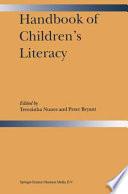 Handbook Of Children S Literacy Book PDF