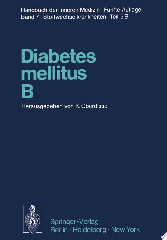 Diabetes mellitus · B