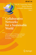 Collaborative Networks for a Sustainable World