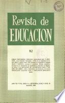 Revista de educación nº 82