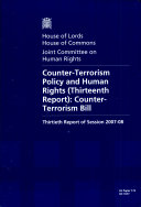 Pdf Counter-terrorism Policy and Human Rights (thirteenth Report)
