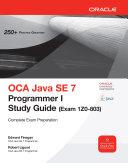 OCA Java SE 7 Programmer I Study Guide (Exam 1Z0-803) [Pdf/ePub] eBook