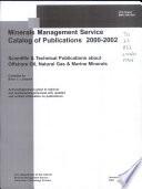 Minerals Management Service Catalog of Publications