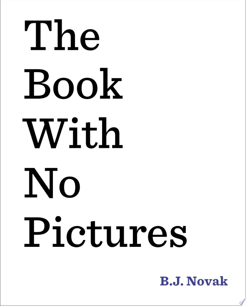 The Book with No Pictures image