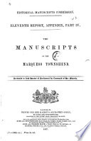 The Manuscripts of the Marquess Townshend