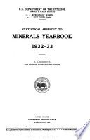 Statistical Appendix To Minerals Yearbook