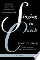 Singing in Czech