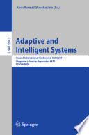 Adaptive And Intelligent Systems Book PDF