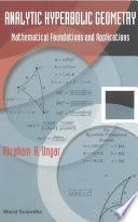 Analytic Hyperbolic Geometry