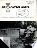 Fire Control Notes