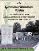 The Greensboro Blockhouse Project