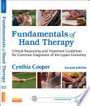 Fundamentals of Hand Therapy   E Book