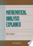 Mathematical Analysis Explained