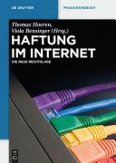 Haftung im Internet