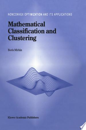 Download Mathematical Classification and Clustering Free Books - Dlebooks.net