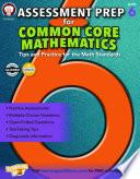 Assessment Prep for Common Core Mathematics  Grade 6
