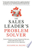 The Sales Leader s Problem Solver