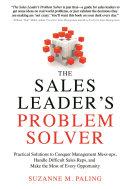 The Sales Leader s Problem Solver