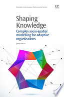 Shaping Knowledge Book