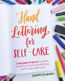 Hand Lettering For Self Care