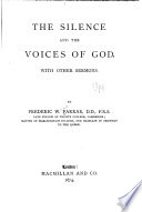 The Silence  and the Voices of God  with Other Sermons