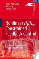 Nonlinear H2 H Infinity Constrained Feedback Control Book PDF