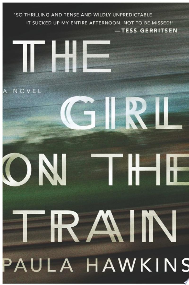 The Girl on the Train banner backdrop