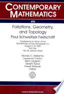 Foliations Geometry And Topology