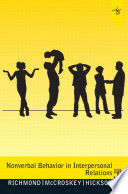 Nonverbal Behavior in Interpersonal Relations