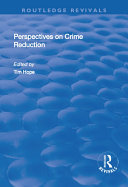 Perspectives on Crime Reduction