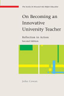 On Becoming An Innovative University Teacher: Reflection In Action