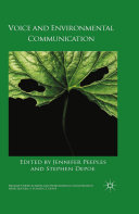 Voice and Environmental Communication [Pdf/ePub] eBook