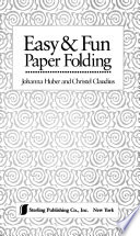 Easy and Fun Paper Folding