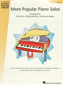 More Popular Piano Solos - Level 3 (Songbook)