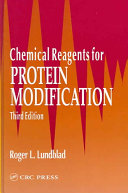 Chemical Reagents For Protein Modification Third Edition
