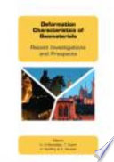 Deformation Characteristics of Geomaterials Book