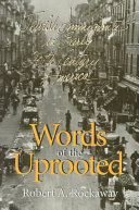 Pdf Words of the Uprooted