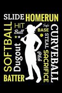 Pdf Softball Slide Homerun Hit Ball Safe Base Steal Sacrifice Pitch Curveball Batter Dugout