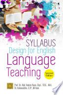 Syllabus Design Of English Language Teaching