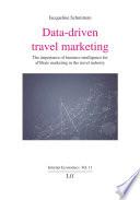 Data driven travel marketing Book