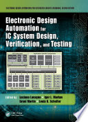 Electronic Design Automation for IC System Design  Verification  and Testing