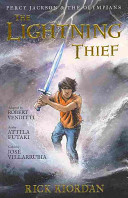 The Percy Jackson and the Olympians: Lightning Thief: The Graphic Novel Rick Riordan, Robert Venditti Cover