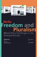 Media Freedom and Pluralism Pdf/ePub eBook