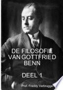 De Filosofie Van Gottfried Benn