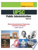 Upsc Ias Mains Public Administration Categorised Papers