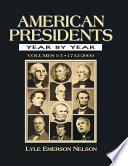 American Presidents Year by Year