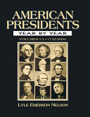 Pdf American Presidents Year by Year Telecharger