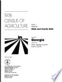 1978 census of agriculture Book